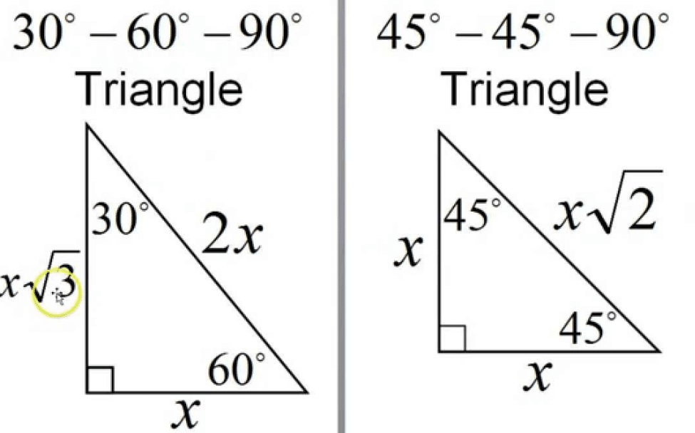 How To Work With 30-60-90-degree Triangles