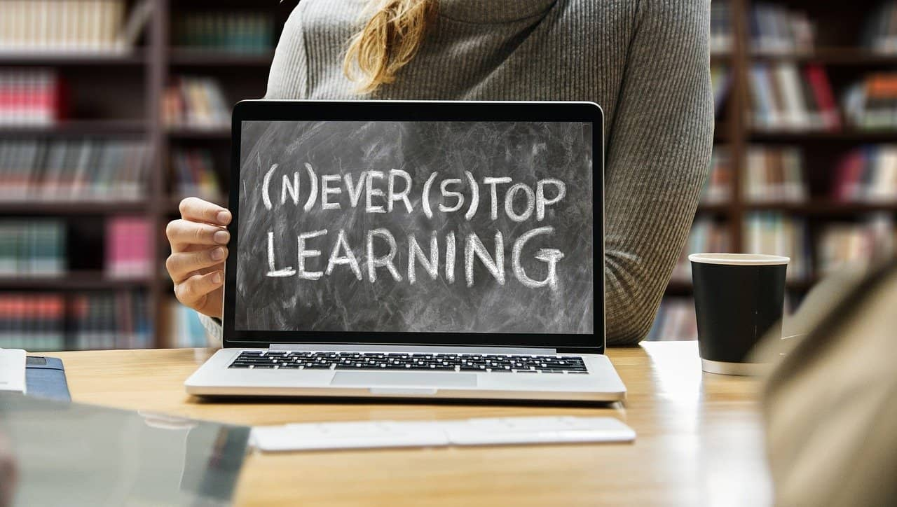 To grow keep learning and upskilling yourself