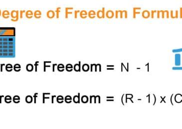 Details on Degrees Of Freedom Formula